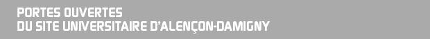 Portes ouvertes du site universitaire d'Alençon-Damigny